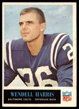 1965 Philadelphia #4 Wendell Harris Excellent+
