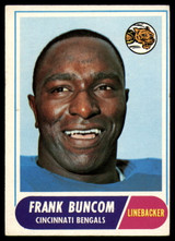 1968 Topps #18 Frank Buncom Excellent+  ID: 141672