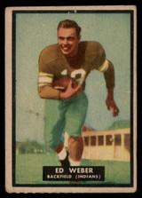 1951 Topps #6 Ed Weber VG  ID: 83799