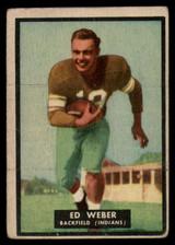 1951 Topps #6 Ed Weber VG  ID: 83800