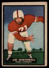 1951 Topps #12 Jim Weatherall VG  ID: 83804