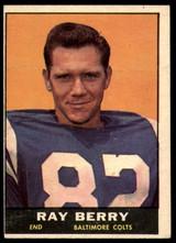 1961 Topps #4 Raymond Berry EX