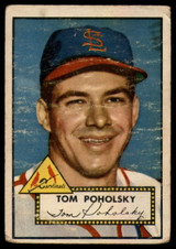 1952 Topps #242 Tom Poholsky P RC Rookie