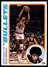 1978-79 Topps #7 Wes Unseld Near Mint