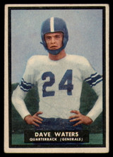 1951 Topps #58 Dave Waters VG  ID: 83850