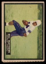 1951 Topps #65 Bill Matthews VG  ID: 83855