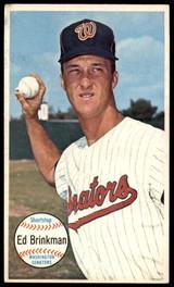 1964 Topps Giants #27 Ed Brinkman Ex-Mint  ID: 183012