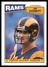1987 Topps #145 Jim Everett Near Mint RC Rookie