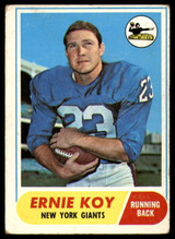 1968 Topps #5 Ernie Koy Excellent RC Rookie