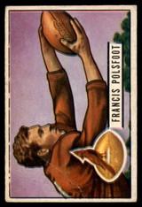 1951 Bowman #136 Fran Polsfoot G/VG Good/Very Good