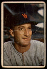 1953 Bowman Color #22 Bob Porterfield P