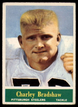 1964 Philadelphia #142 Charley Bradshaw Very Good RC Rookie ID: 140134