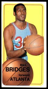 1970-71 Topps #71 Bill Bridges G-VG Writing on Card