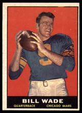 1961 Topps #10 Bill Wade Very Good