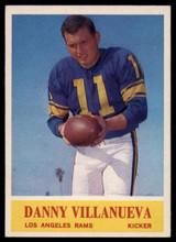 1964 Philadelphia #96 Danny Villanueva Very Good