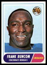 1968 Topps #18 Frank Buncom Ex-Mint  ID: 153230