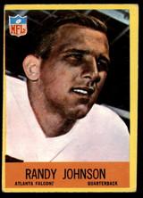 1967 Philadelphia #4 Randy Johnson Very Good RC Rookie ID: 141207