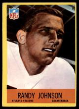 1967 Philadelphia #4 Randy Johnson Very Good RC Rookie ID: 141209