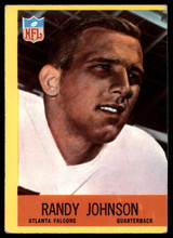 1967 Philadelphia #4 Randy Johnson Very Good RC Rookie ID: 141211