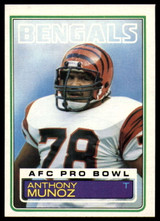 1983 Topps #240 Anthony Munoz NM-Mint  ID: 151451