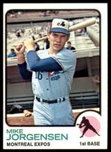 1973 Topps #281 Mike Jorgensen NM-Mint