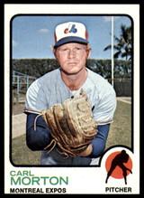1973 Topps #331 Carl Morton NM-Mint