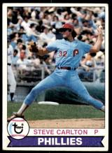 1979 Topps #25 Steve Carlton Very Good  ID: 186035