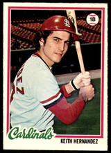 1978 O-Pee-Chee #109 Keith Hernandez Near Mint+  ID: 188598