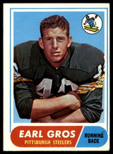 1968 Topps #7 Earl Gros EX Excellent
