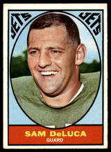 1967 Topps #92 Sam DeLuca VG Very Good