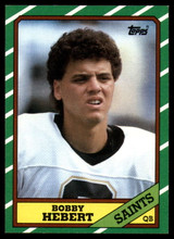 1986 Topps #339 Bobby Hebert NM-Mint RC Rookie ID: 151522