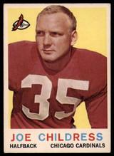 1959 Topps #13 Joe Childress Very Good