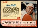 1962 Post Cereal #120 Gus Bell G-VG  ID: 144368
