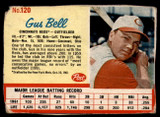1962 Post Cereal #120 Gus Bell G-VG  ID: 144370