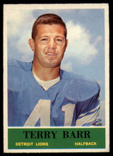 1964 Philadelphia #57 Terry Barr Very Good