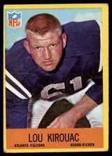 1967 Philadelphia #5 Lou Kirouac VG Very Good RC Rookie