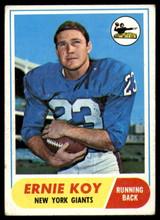 1968 Topps #5 Ernie Koy Very Good RC Rookie