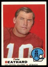 1969 Topps #221 Pete Beathard Very Good  ID: 148301