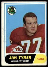 1968 Topps #15 Jim Tyrer Very Good