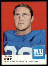 1969 Topps #131 Ernie Koy Very Good  ID: 148064