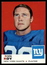 1969 Topps #131 Ernie Koy Very Good  ID: 148067