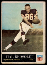 1965 Philadelphia #101 Hal Bedsole VG Very Good RC Rookie