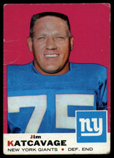 1969 Topps #84 Jim Katcavage Very Good