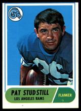 1968 Topps #156 Pat Studstill Very Good