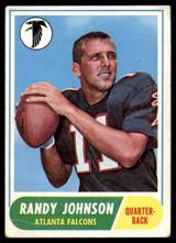 1968 Topps #203 Randy Johnson Very Good  ID: 143265