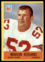1967 Philadelphia #9 Marion Rushing Very Good RC Rookie