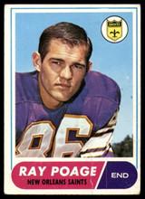 1968 Topps #30 Ray Poage Very Good  ID: 141748