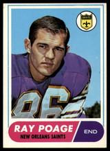 1968 Topps #30 Ray Poage Very Good  ID: 141751