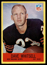 1967 Philadelphia #130 Dave Whitsell Very Good RC Rookie