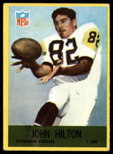 1967 Philadelphia #151 John Hilton Very Good RC Rookie